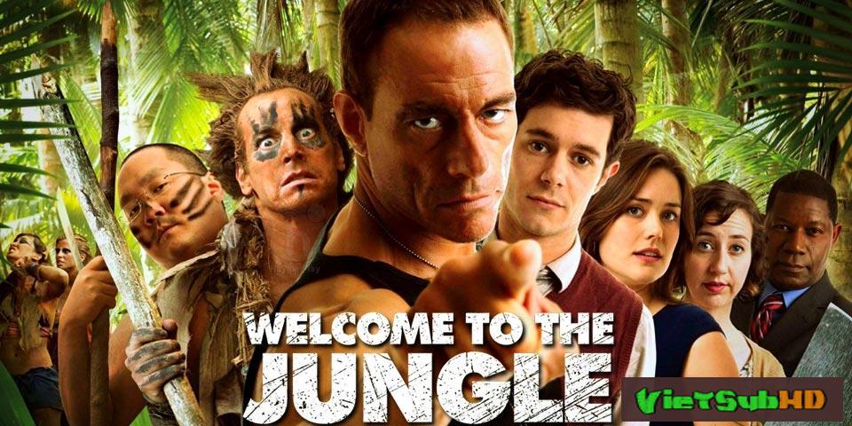 Phim Thử Thách Sống Còn VietSub HD | Welcome To The Jungle 2013