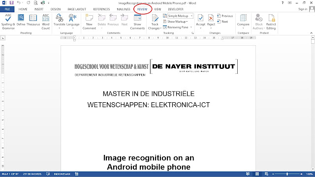 Cara Translate PDF Bahasa Inggris - Menggunakan Microsoft Word