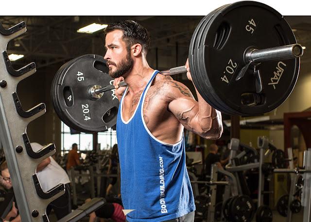 como ganhar massa muscular - treinos para hipertrofia