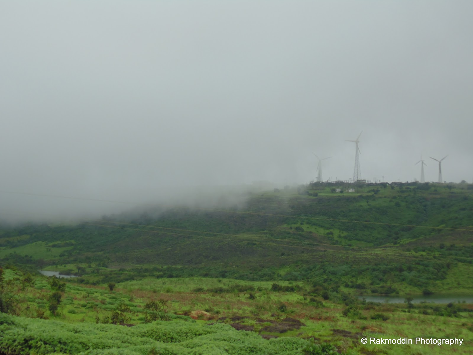 Chalkewadi windmills farms near Satara