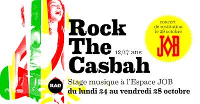 Stage de musique ados Rock The Casbah de la Toussaint 2016