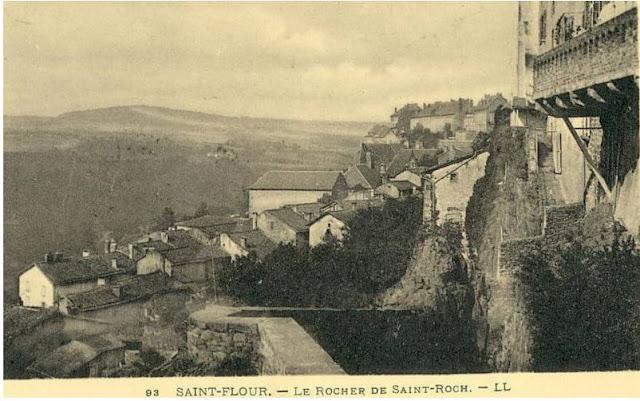 Saint Roch.le rocher de saint Flour