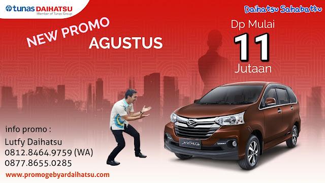 Promo Kredit Daihatsu Xenia Agustus 2018