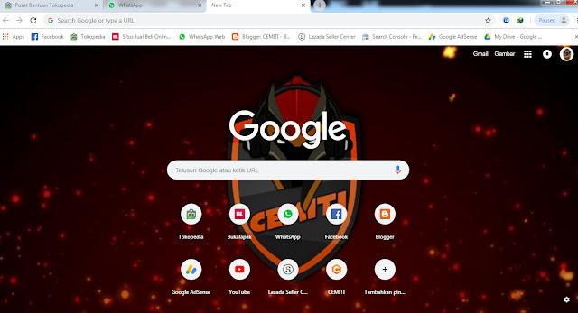 Cara Mengubah Background Google Chrome menggunakan Foto Sendiri
