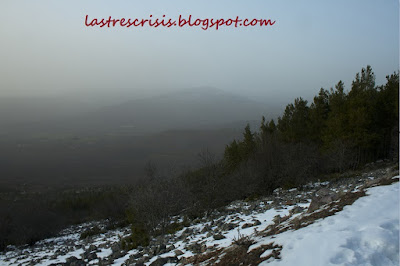 Entrada de polvo sahariano en Febrero
