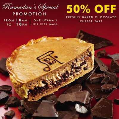 Pablo Cheesetart Malaysia Freshly Baked Chocolate Cheese Tarts Ramadan's Special Discount Promo