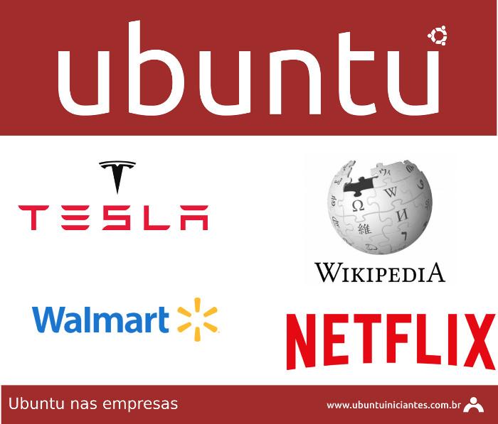 algumas empresas que usam ubuntu linux