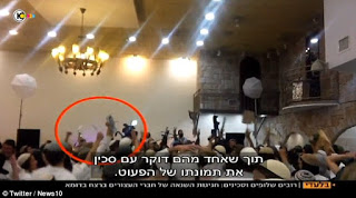 http://www.dailymail.co.uk/news/article-3373035/Shocking-footage-Jewish-wedding-shows-guests-celebrating-%20%20death-Palestinian-baby-burned-alive-arson-attack.html