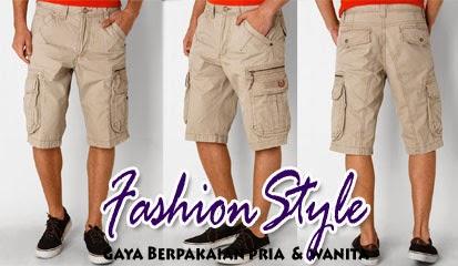 Model Celana Pendek Pria Bermuda Army Short Pants by Watchout! Casual