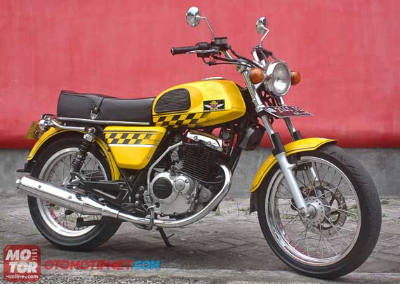 Honda Tiger Modifikasi CB T RECK