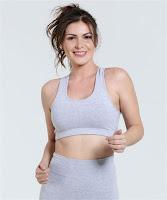 Moda Marisa Top Feminino Nadador Fitness Active
