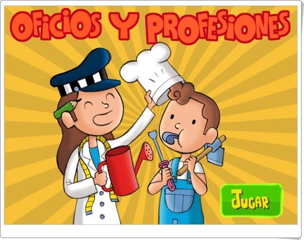 """""""Oficios y profesiones"""" (Juego de Ciencias Sociales de Primaria)"""
