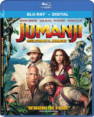 Jumanji: Welcome to the Jungle [BD25] [Latino]