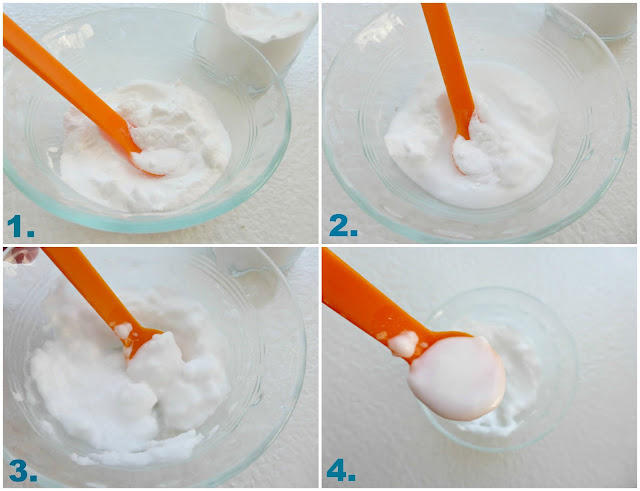 diy beauty products: baking soda microdermabrasian exfoliating facial