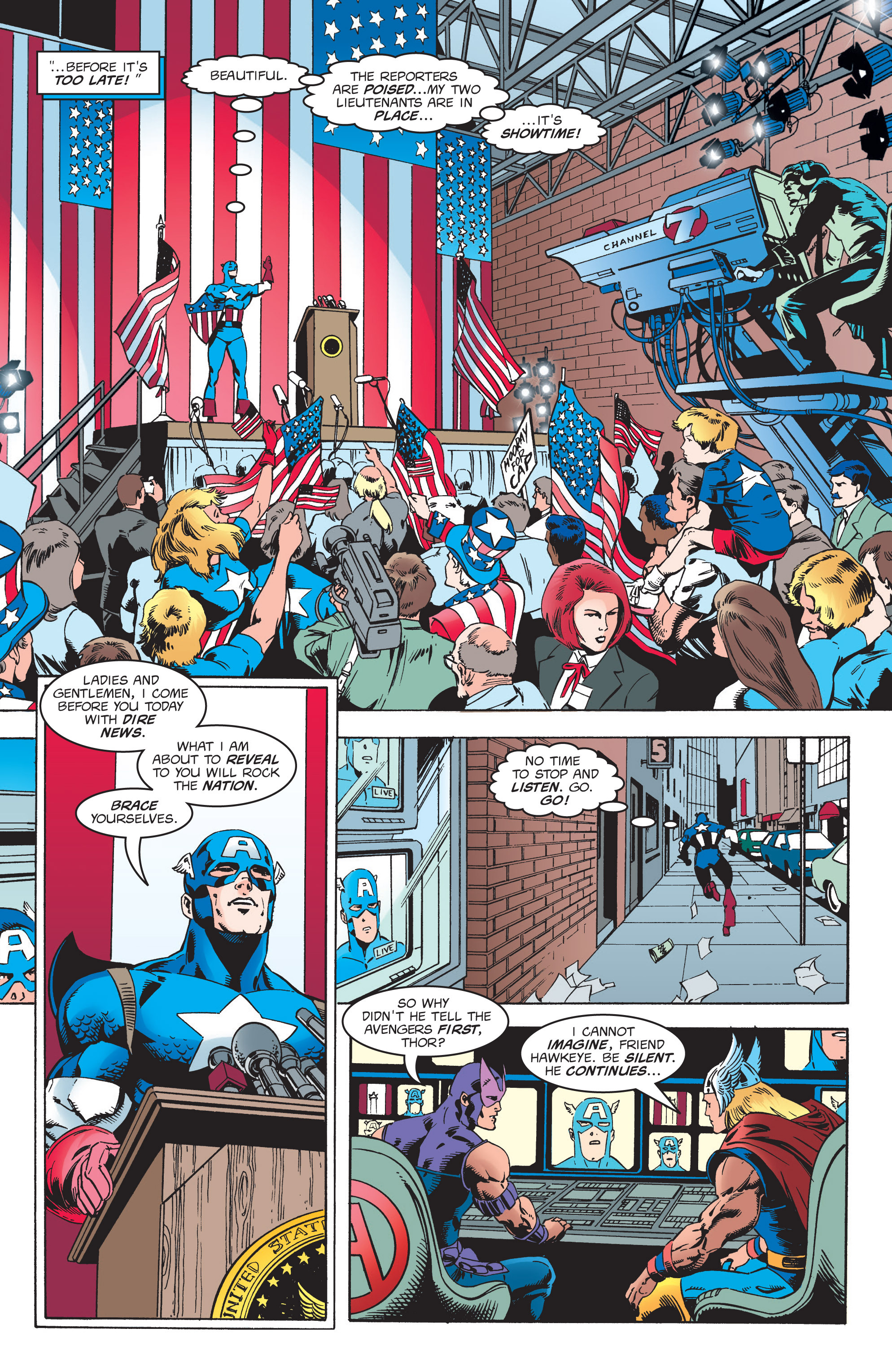 Captain America (1998) Issue #6 #9 - English 15