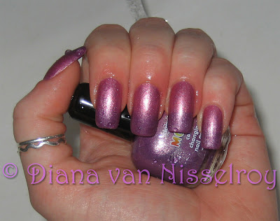 D.I.A.N.A.: Claire's Mood Polish Calm/Wild (swatches and nail art)