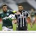 Ceará empata em 2 a 2 com Palmeiras e postura do time agrada torcida