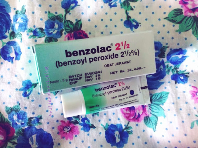 Cream Jerawat Benzolac