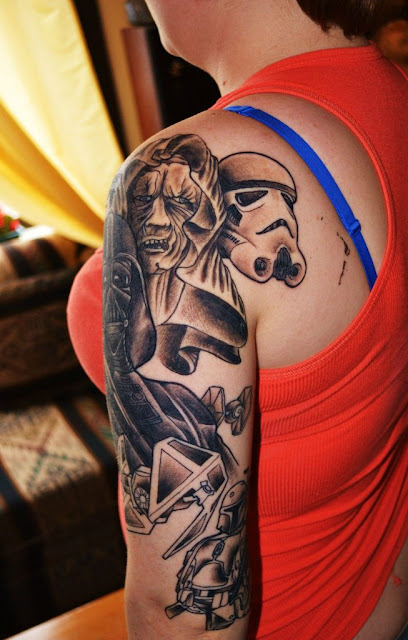 Tatuaje Star Wars