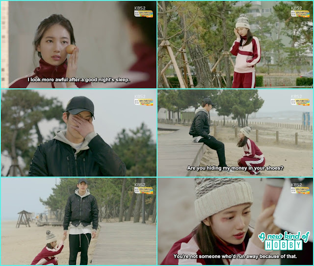 noh eul grab joon young hand and ask not to leave her - Uncontrollably Fond - Episode 13 Review