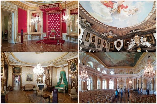 interior castillo real