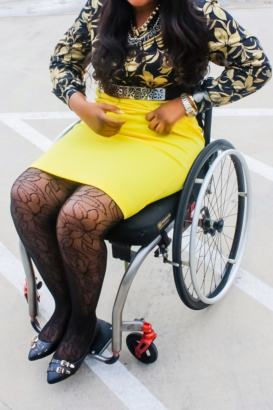 Yellow Wheelchair Plush Desk Chair The Do It Yourself Lady Fashion Thrift Store