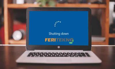 cara lain menshutdown komputer tanpa software tambahan - Feri Tekno
