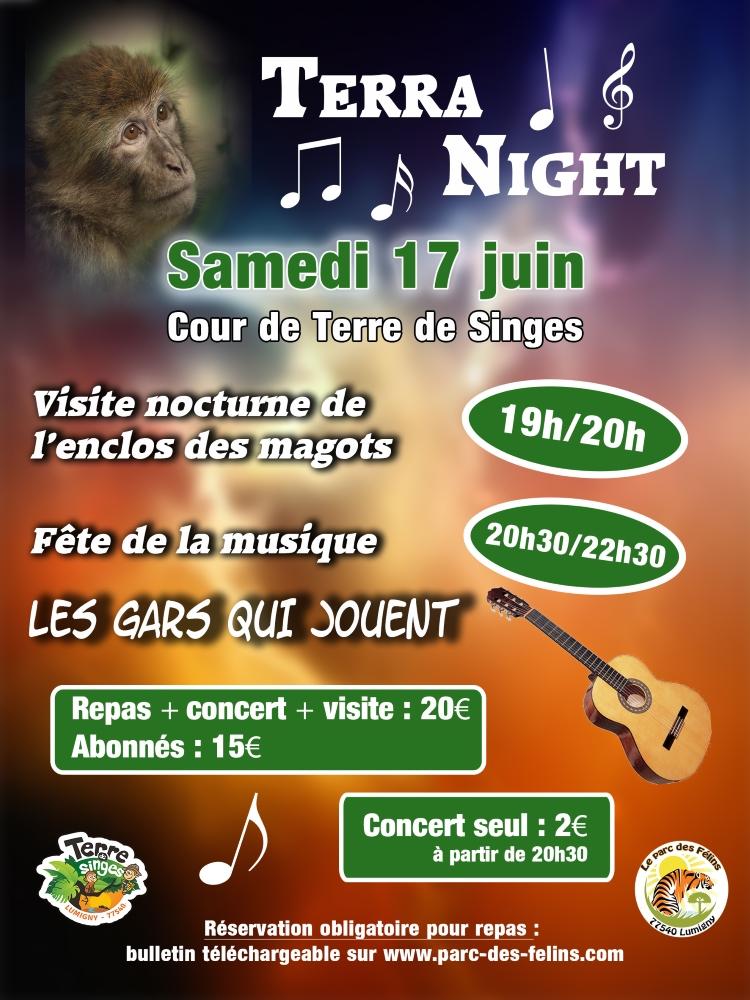 TERRA Night une soirée d'exception le 17 juin 2017