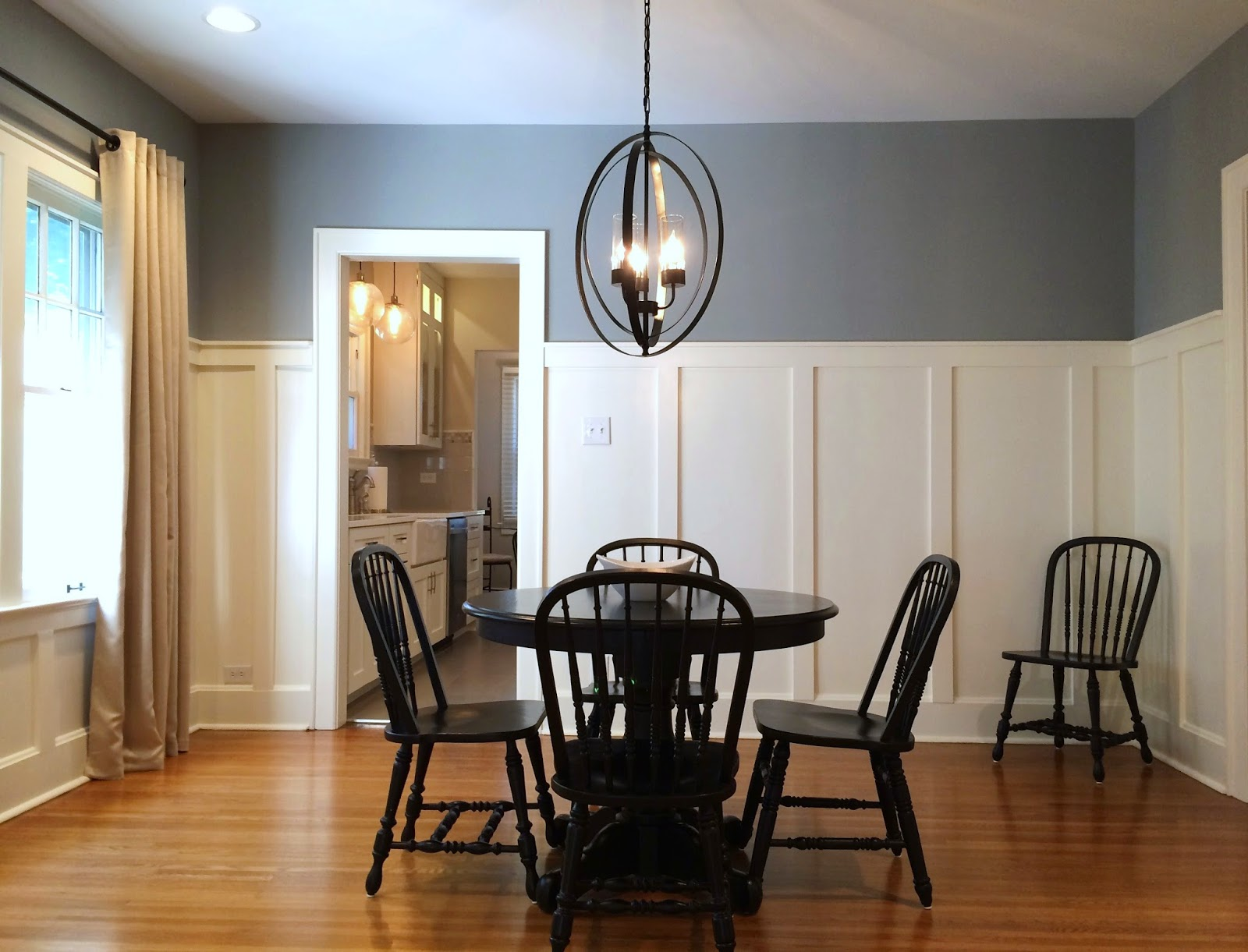 bungalow dining room   BUNGALOW DINING ROOM REVEAL   ELZ DESIGN
