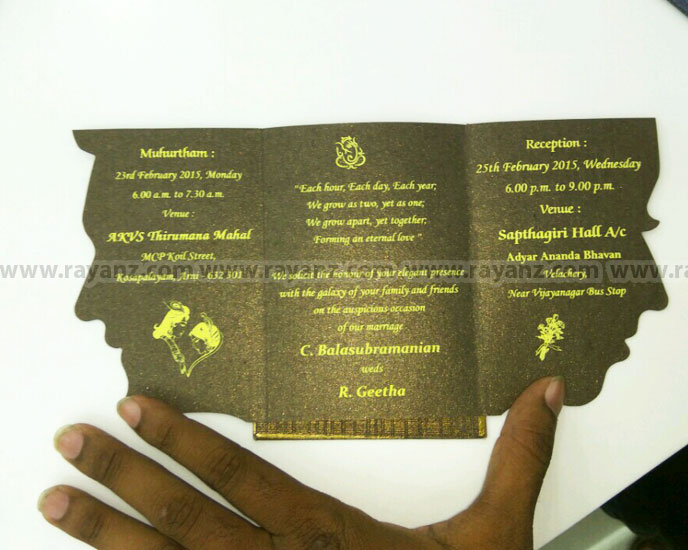 wedding cards screen printing chennai
