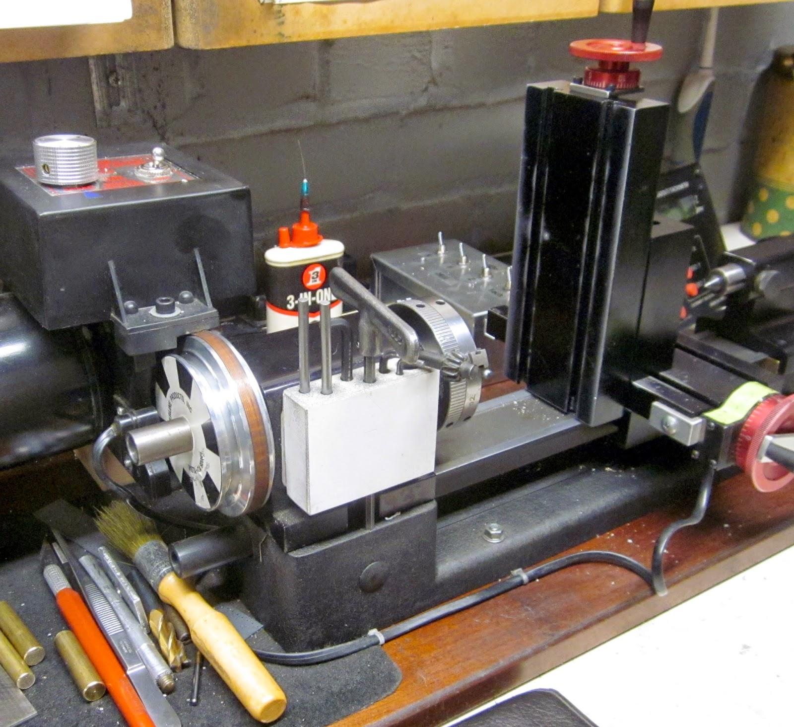 MI Shop Tools Inventions: Sherline Lathe - DIY Vertical