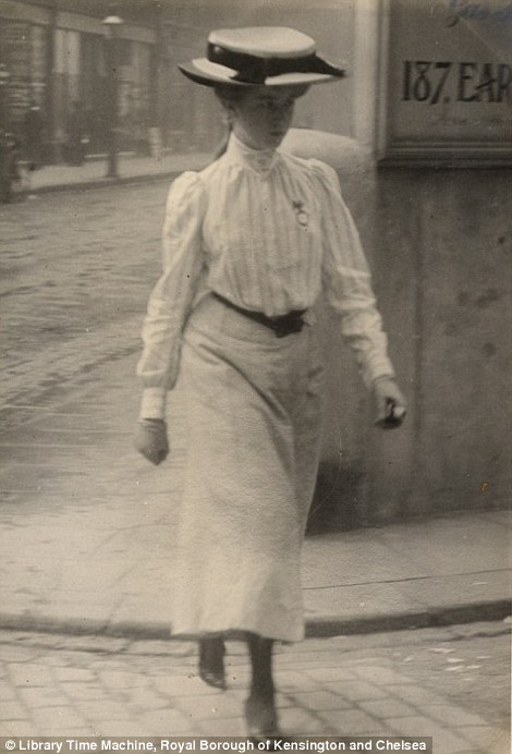 Fashion Of Women In London And Paris Over A Century Ago