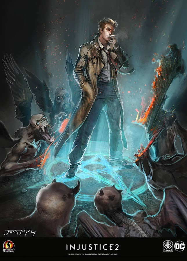 injustice 2 unused concept art constantine