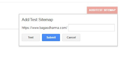 submit sitemap