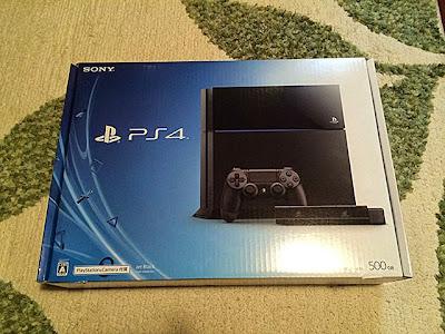 PS4外箱