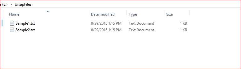 MSBI: SSIS: Extract Files From Zip Files and Delete after