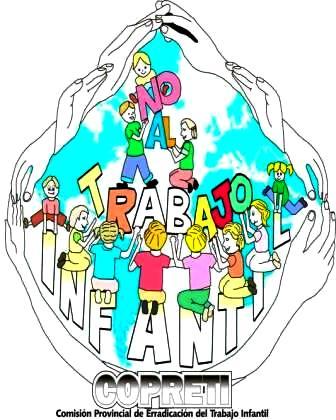 Dibujo alusico al Día Mundial contra el trabajo infantil