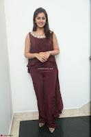 Nikki Galrani in a Brown Shining Sleeveless Gown at Nakshatram music launch ~  Exclusive 037.JPG