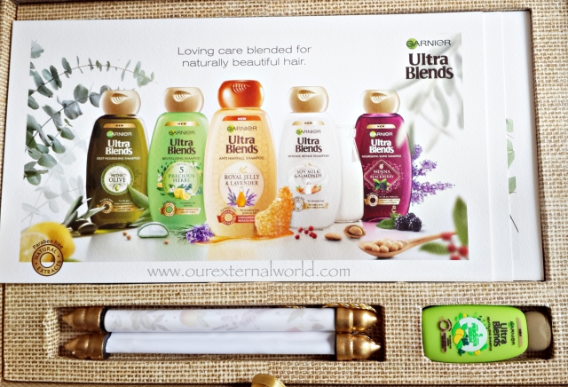 Garnier Ultra Blends Shampoos, blendedwithlove