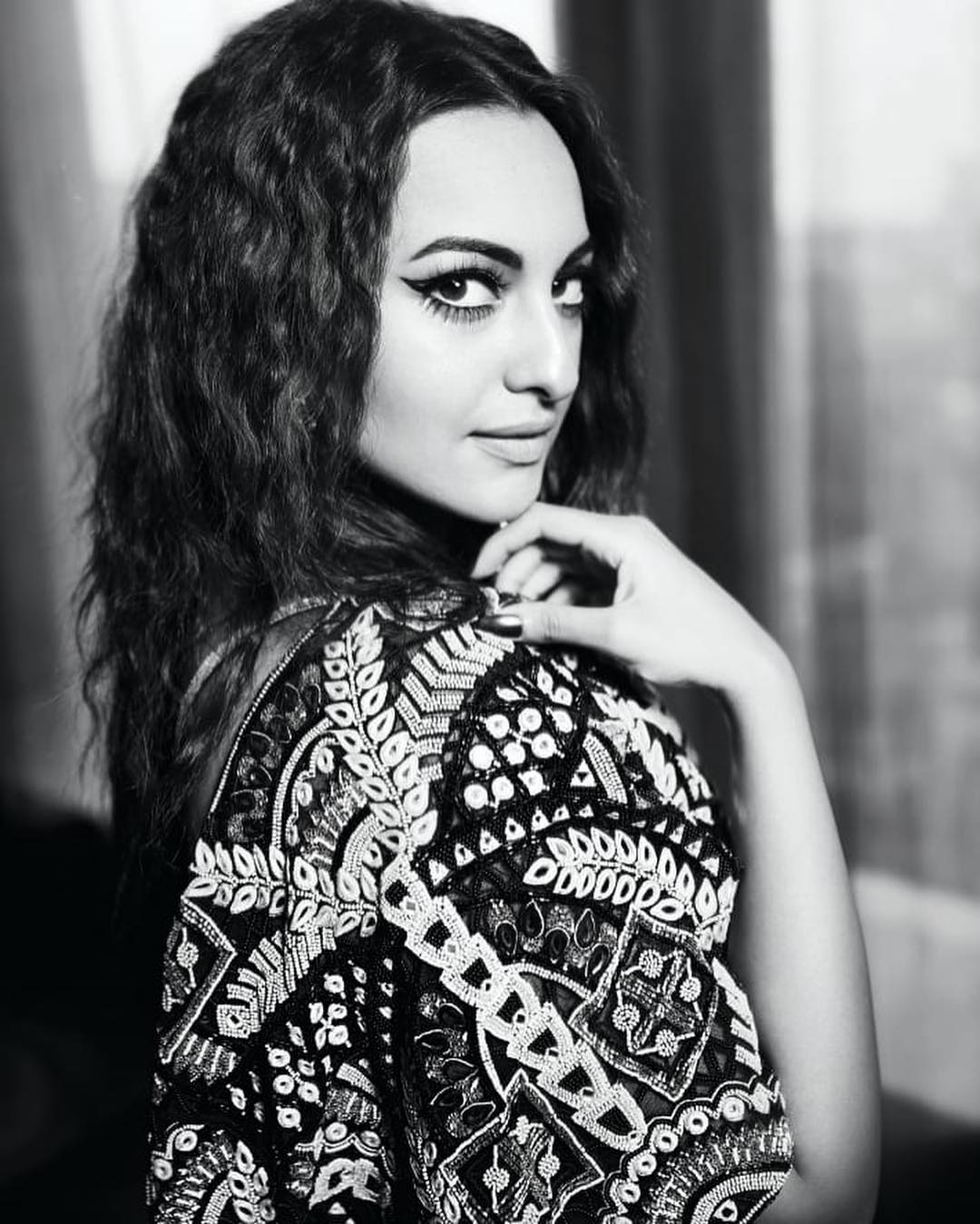 Sonakshi Sinha Black and White Photos