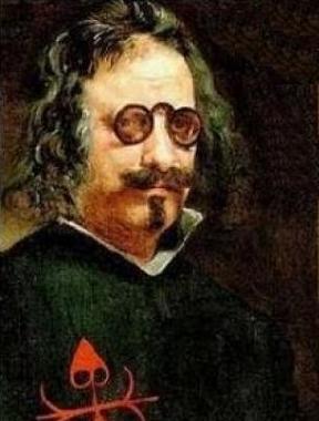 retrato de Quevedo