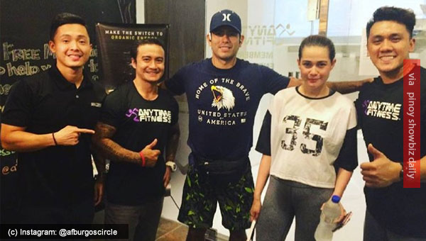 Spotted: Bea Alonzo and Gerald Anderson getting fit together in a gym