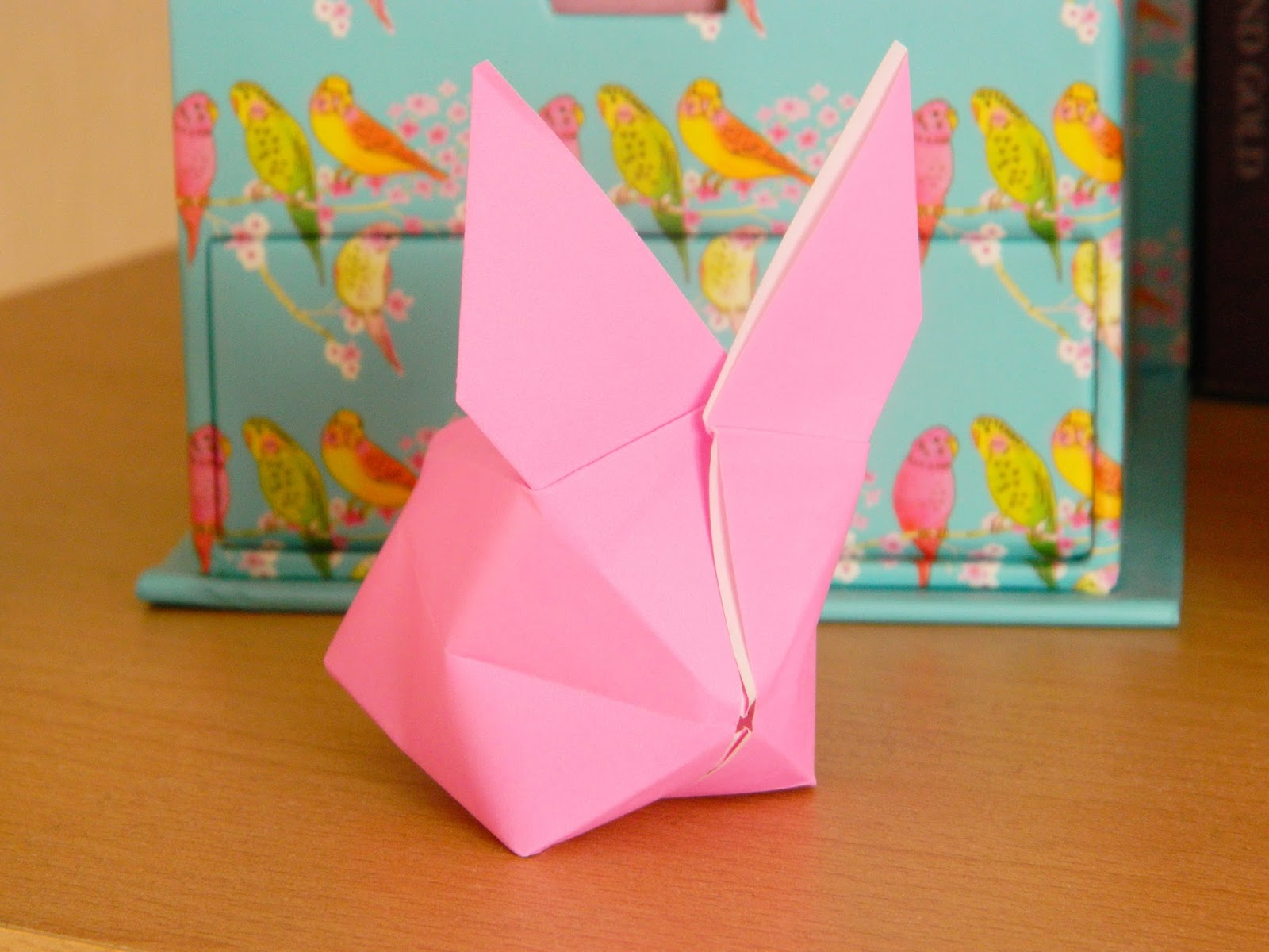 ORIGAMI EASTER BUNNY RABBITS. | Origami für kinder, Origami, Diy ... | 1200x1600