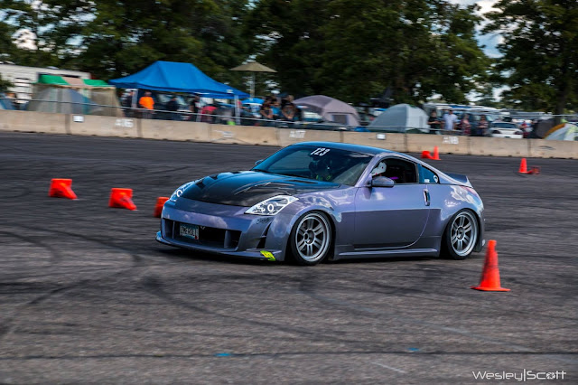 BTR sponsored win nissan 350z