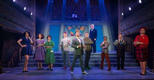 Smooth operator: How To Succeed in Business Without Really Trying @wiltonsmusichall
