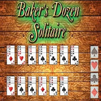Card Game: Baker's Dozen Solitaire