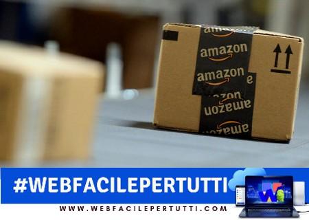 Amazon diventa (anche) operatore postale in Italia