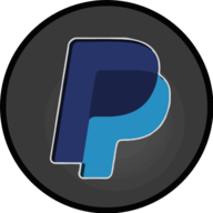 paypal glowing icon