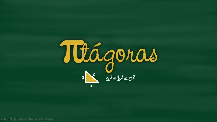 Wallpaper matemático 7: Pitágoras