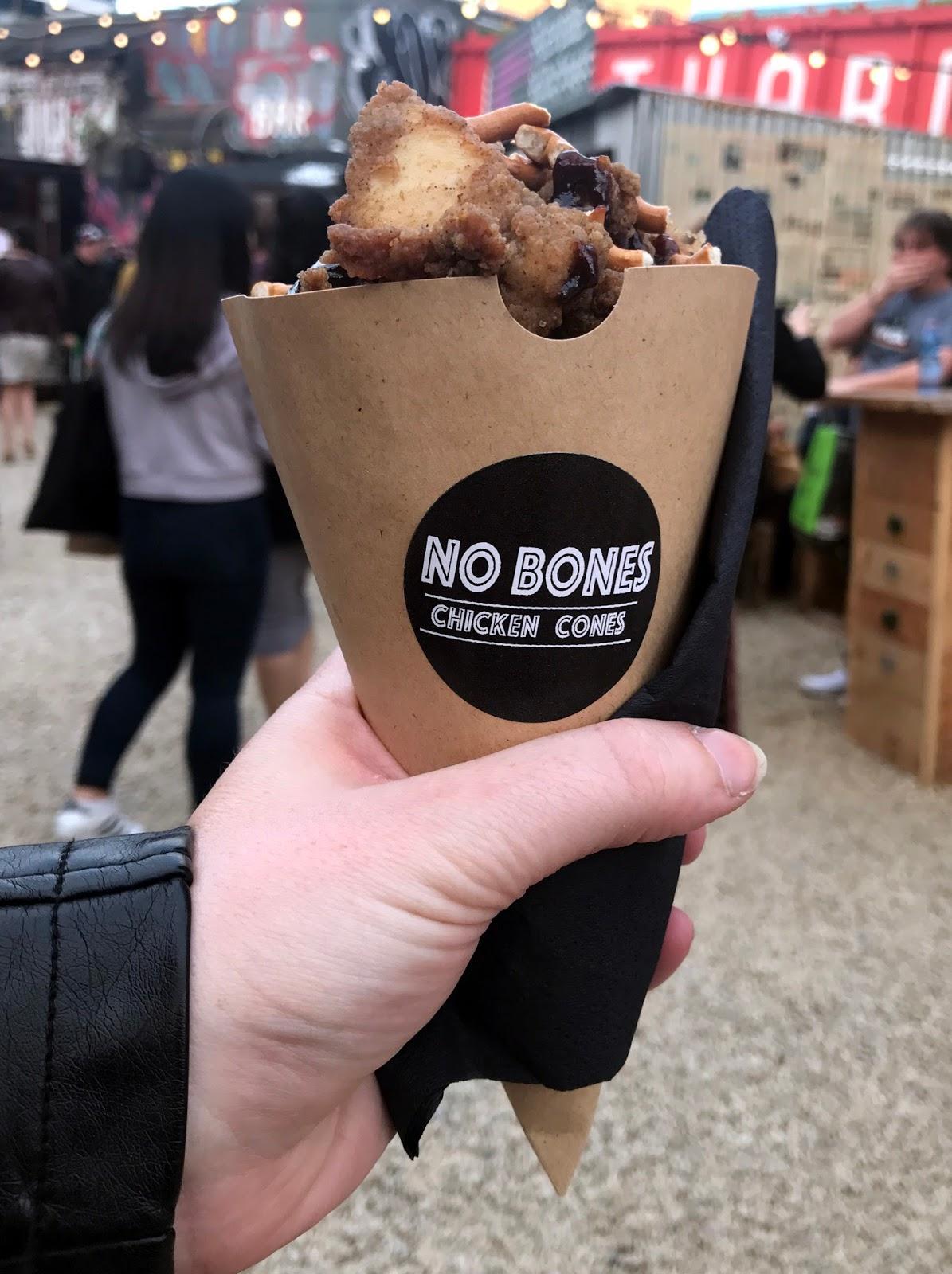 Stitch & Bear - Eatyard - No Bones Chicken Cones bourbon BBQ